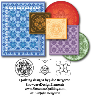 Love Takes Wing quilting design by Julie Bergeron for Showcase Design Elements